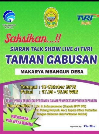 SIARAN TALK SHOW LIVE DI TVRI