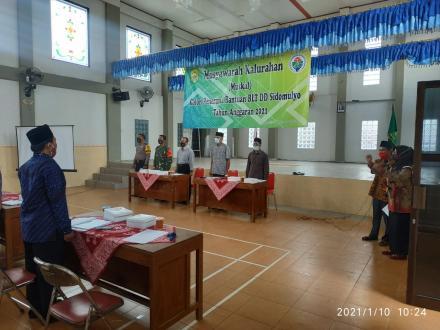 Musyawarah Kalurahan (Muskal) Calon Penerima Bantuan BLT DD Tahun Anggaran 2021
