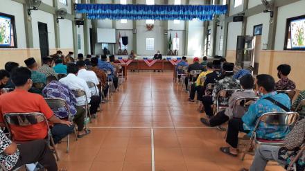Bimtek RT dan Pendataan Penduduk Non Permanen